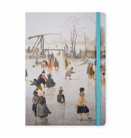 Notebook A5 Ice Scene