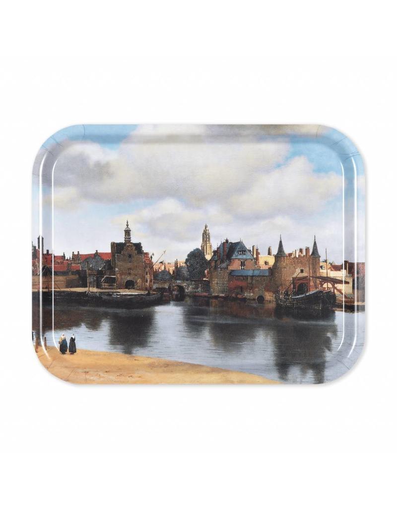 Dienblad Gezicht op Delft