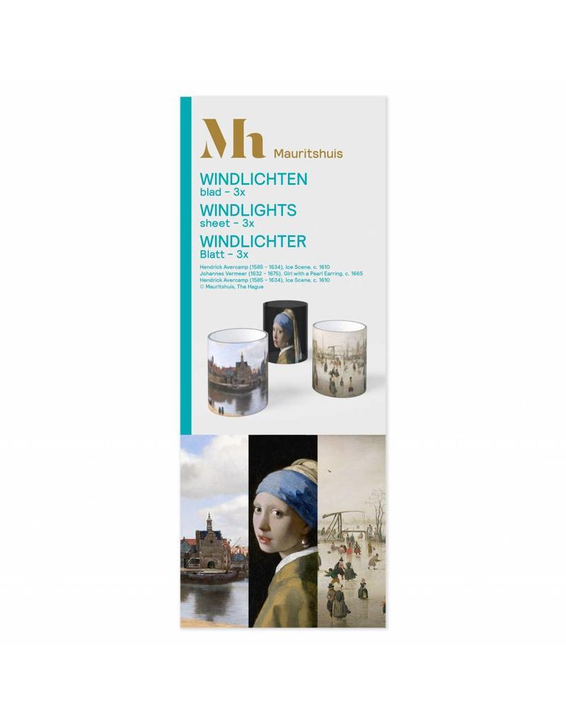 Theelichthouders Mauritshuis