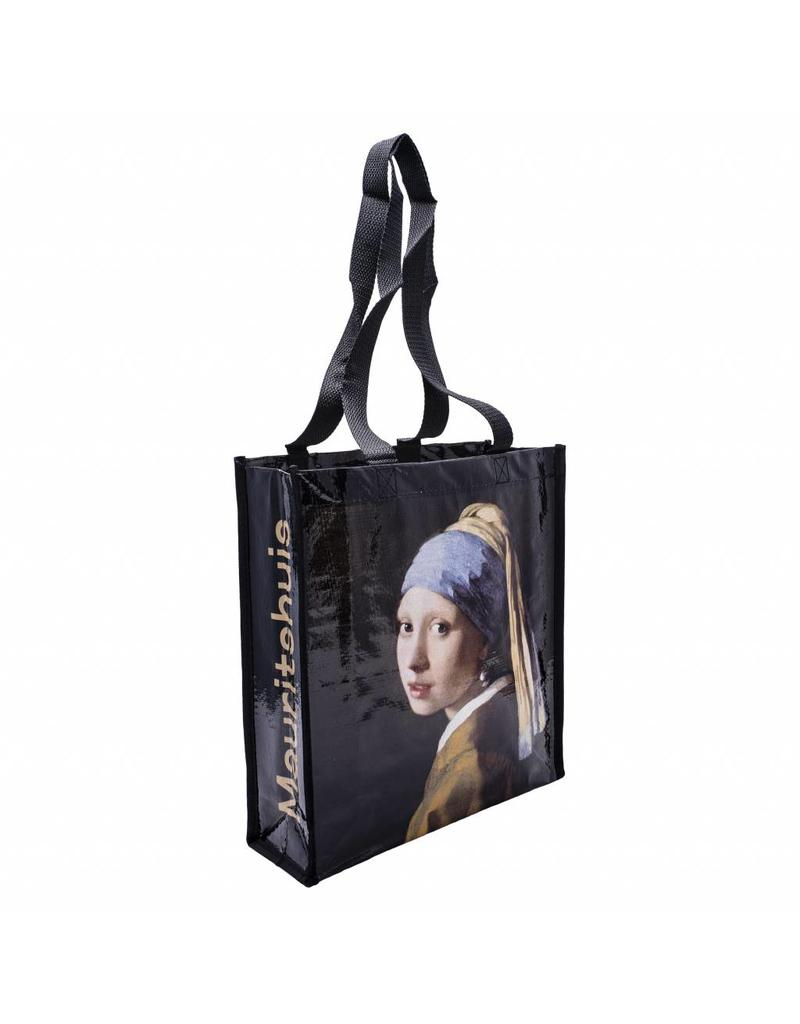 Shopping Bag Girl with a Pearl Earring