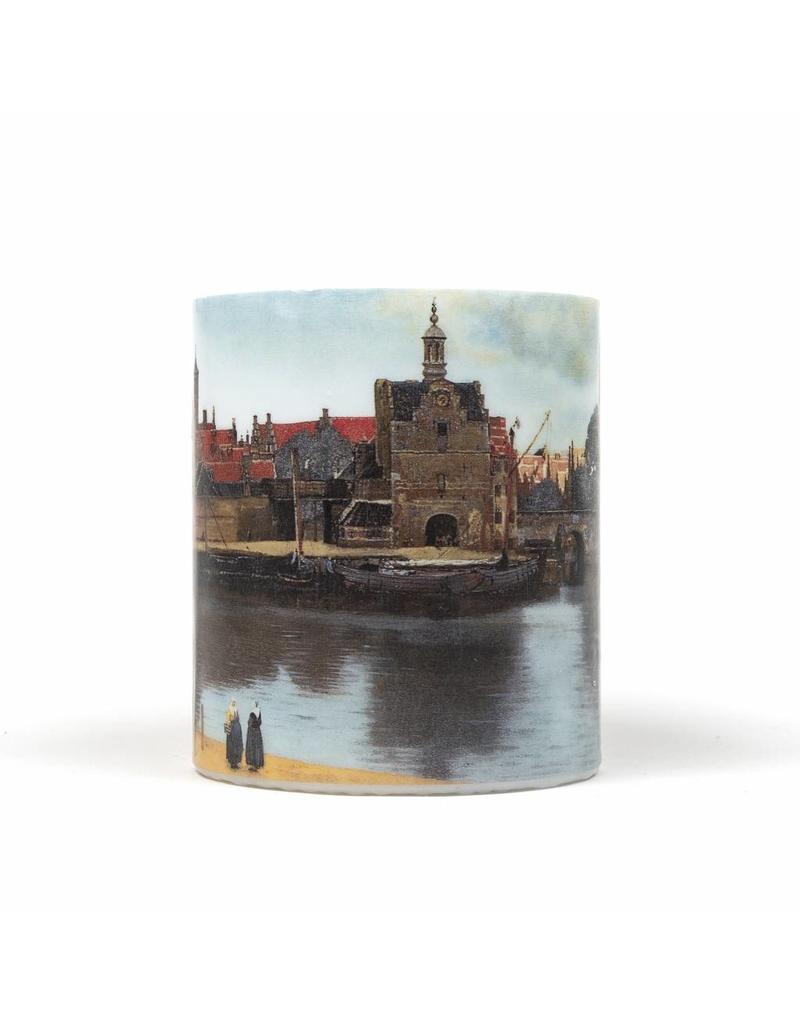 Kaars Gezicht op Delft