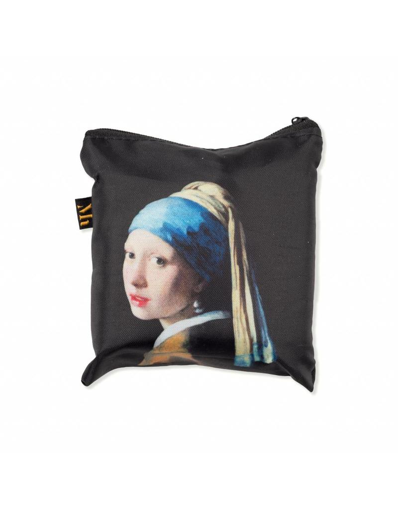 Foldable Bag Girl with a Pearl Earring