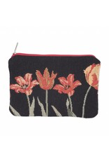 Pouch Tulips black
