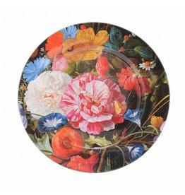 Plate Vase of Flowers