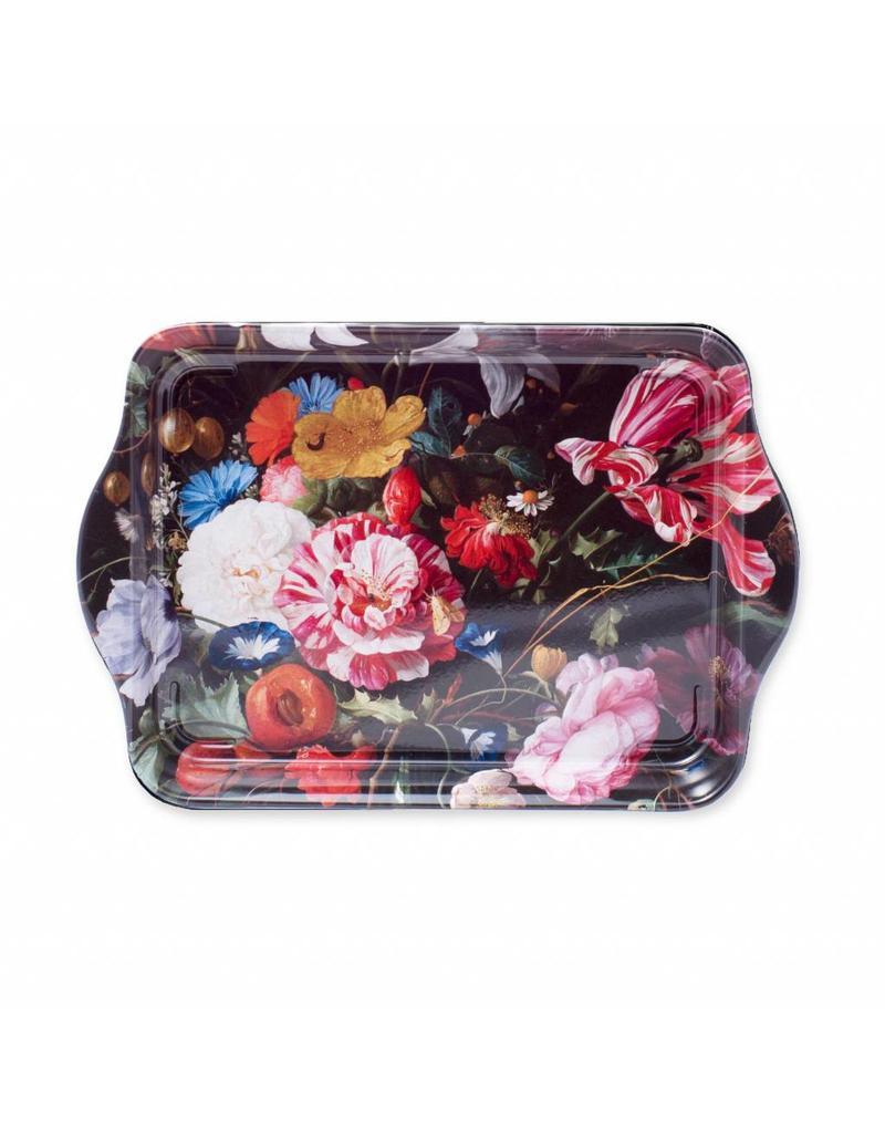 Dienblad Vaas met Bloemen Klein
