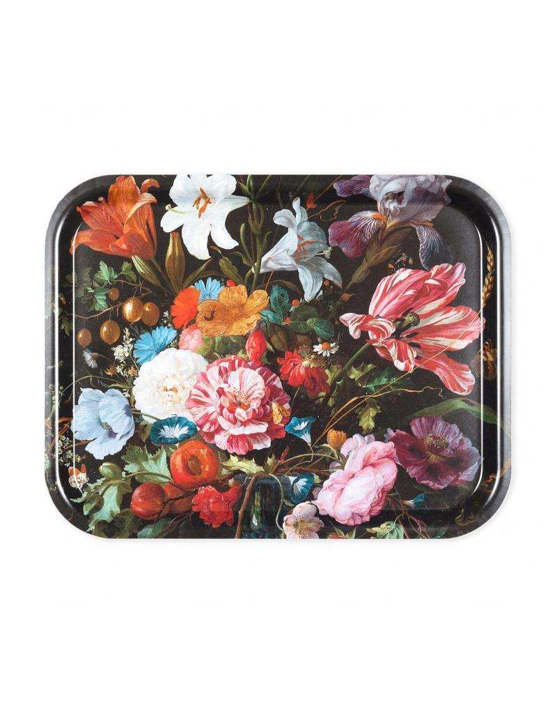 Tray Vase of Flowers