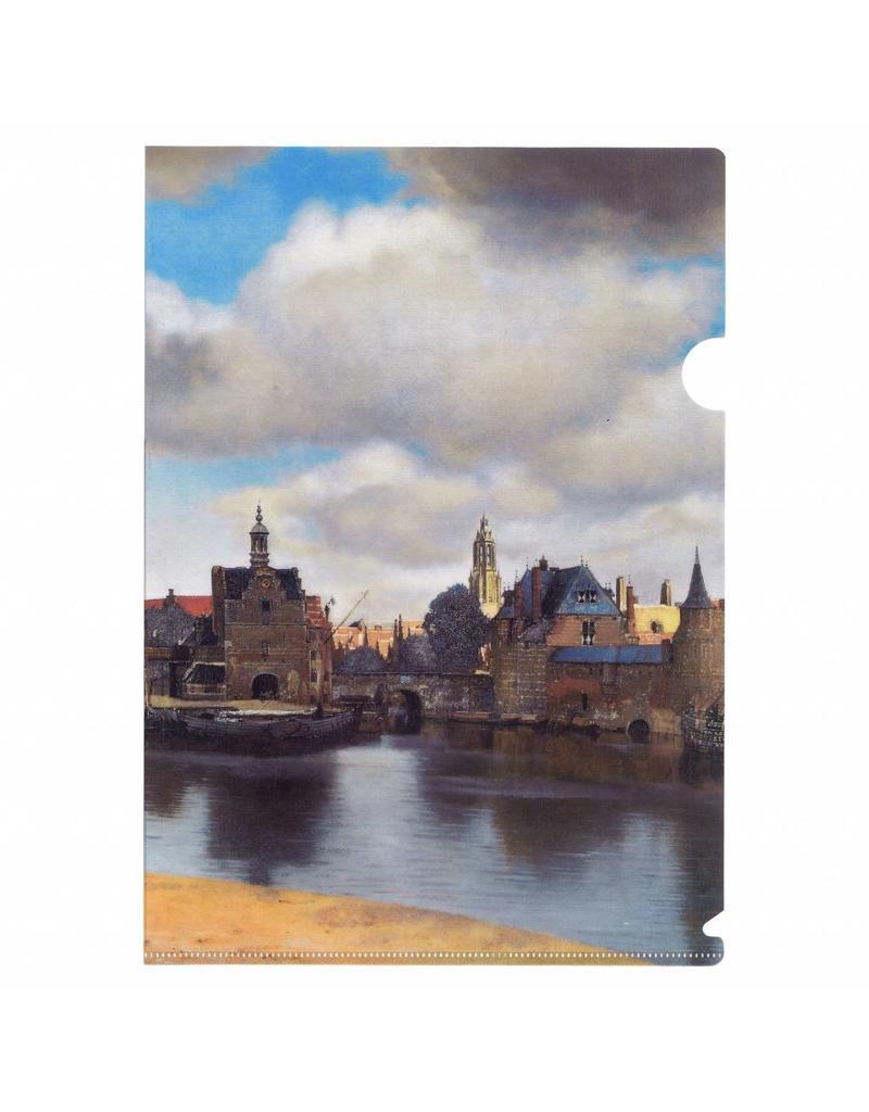 A4 Insteekmap Gezicht op Delft