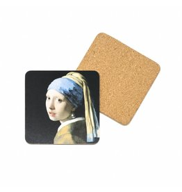 Coaster Girl with a Pearl Earring