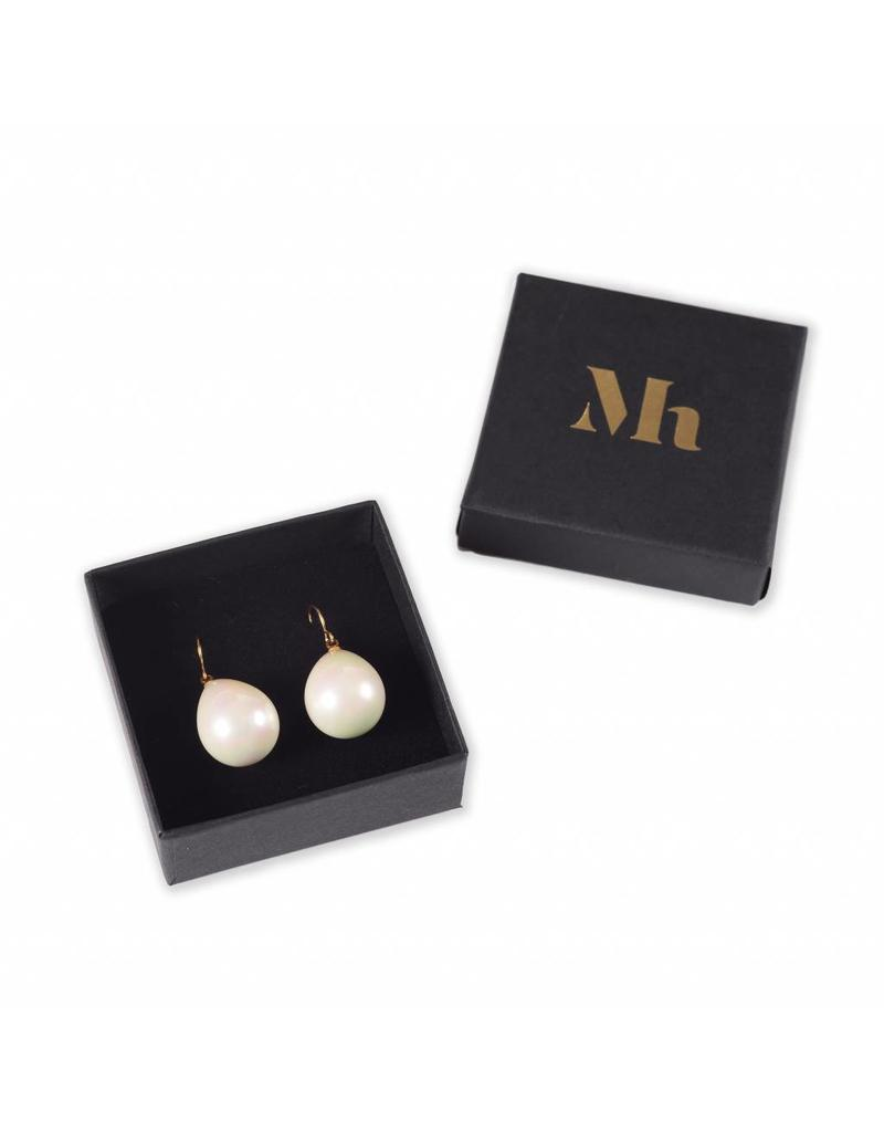 Pearl Earrings Silver (Small)