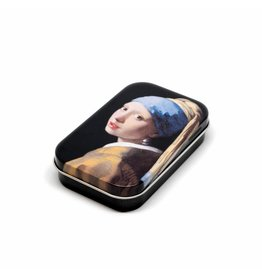 Tin Box Girl with a Pearl Earring