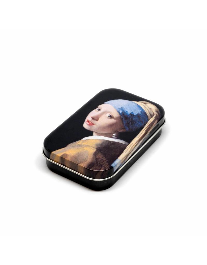 Tin Box Girl with a Pearl Earring