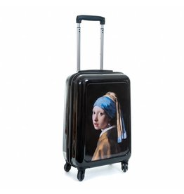 Suitcase Girl with a Pearl Earring