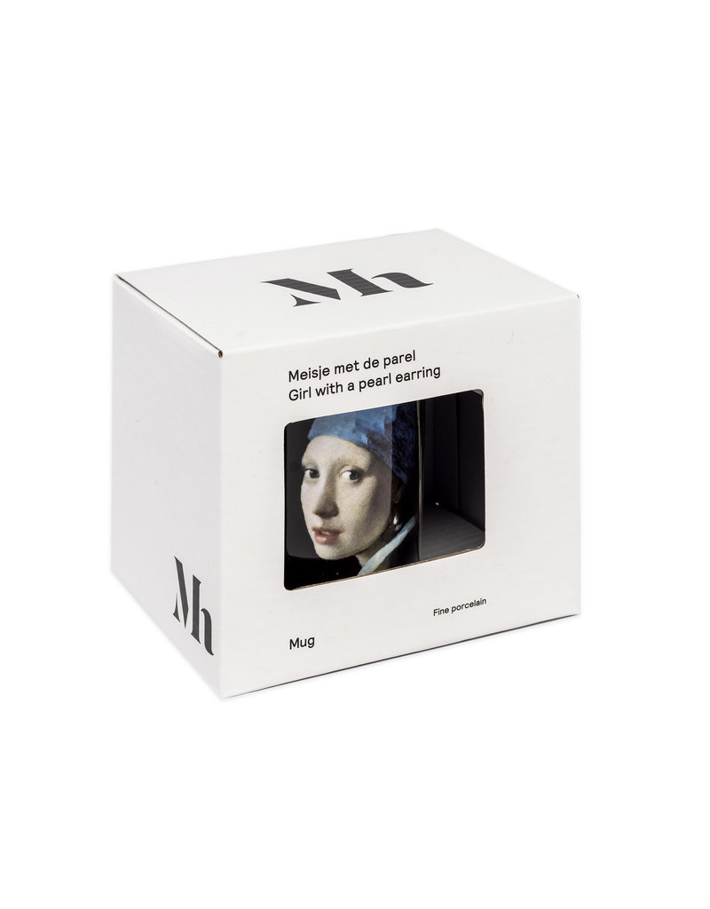 Mug Girl with a Pearl Earring