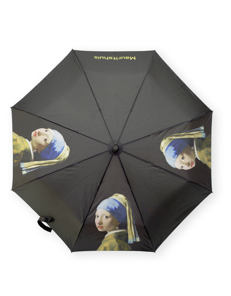 Umbrella Girl with a Pearl Earring