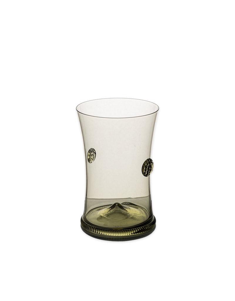 Glass rosette