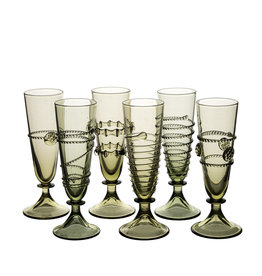 Set of 6 small glasses
