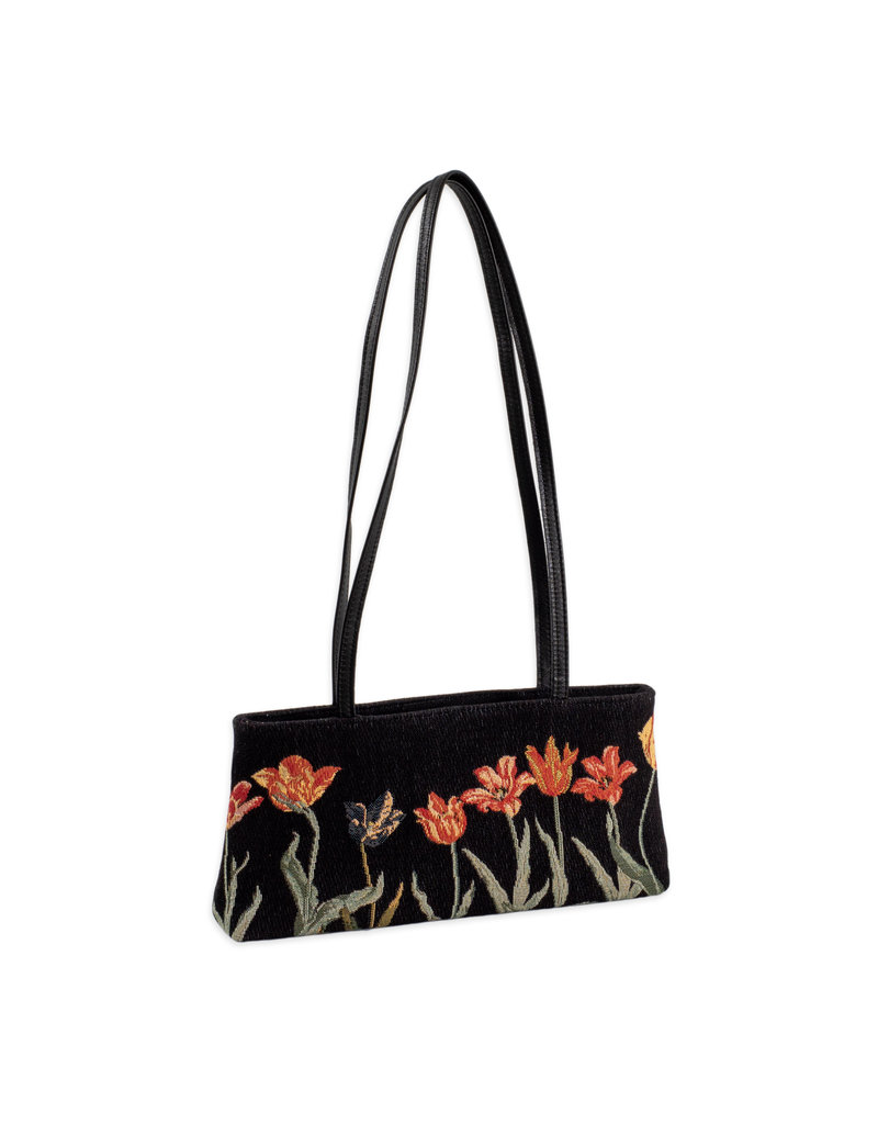 Tas Tulpenrij zwart