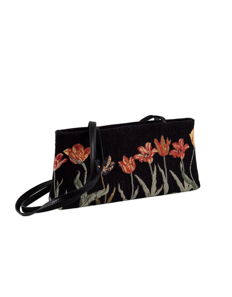 Bag tulip row black