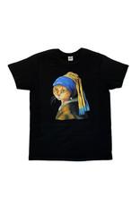 T-shirt cat Vermeer