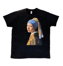 T-shirt Meisje met de parel