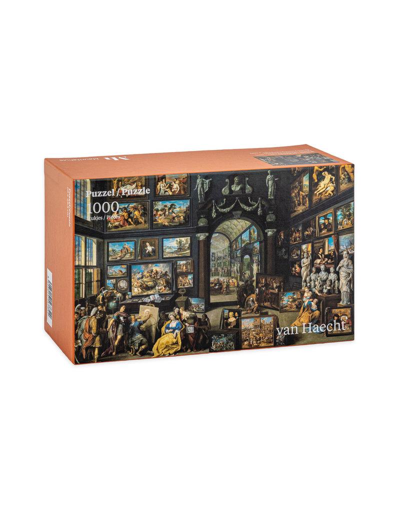 Puzzel Apelles schildert Campaspe