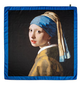 Shawl Girl with a Pearl Earring