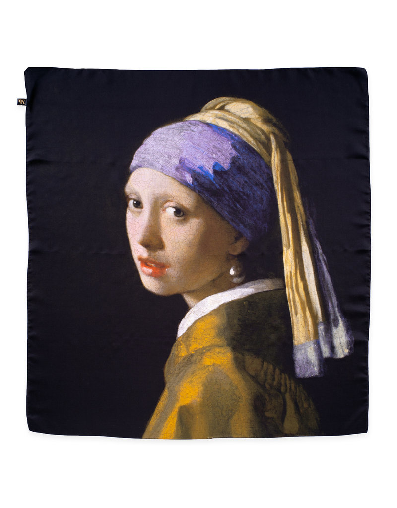 Shawl Girl with the Pearl Earring - silk