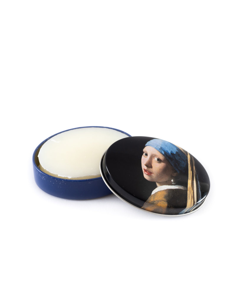 Soap in a tin can Girl with the pearl