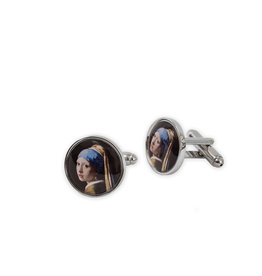 Cufflinks Girl with a Pearl Earring