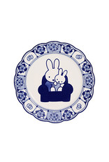 Plate Miffy Delft Blue