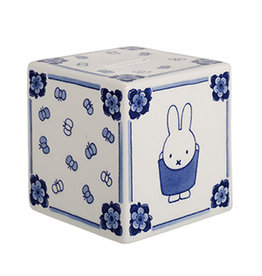 Money box Miffy cube Delft Blue