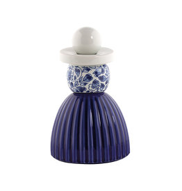 Proud Mary Cobalt Flower Delftsblauw