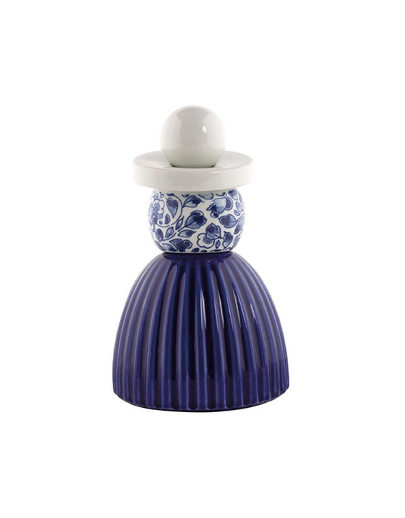 Proud Mary Cobalt Flower Delft Blue 03
