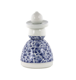 Proud Mary Flower Pattern Delft Blue
