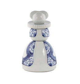 Proud Mary Ribbon Flower Delft Blue