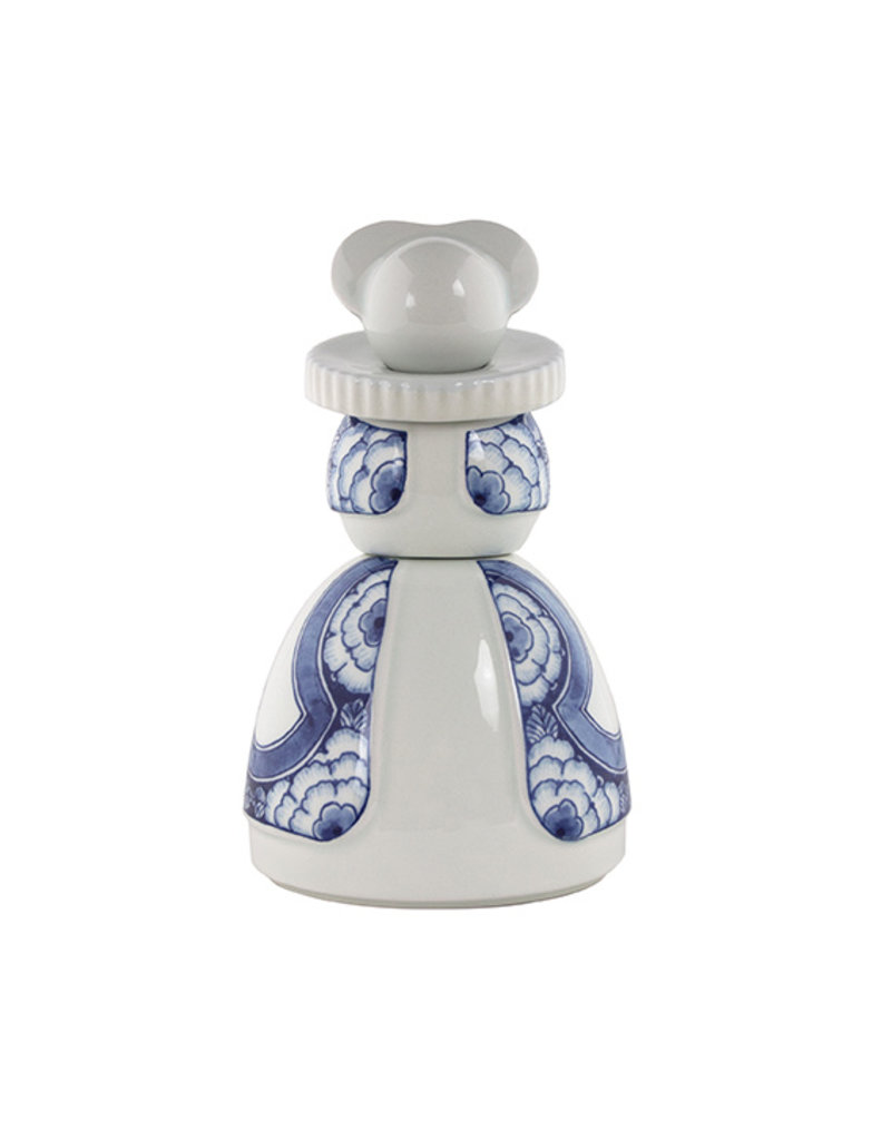 Proud Mary Ribbon Flower Delft Blue 05