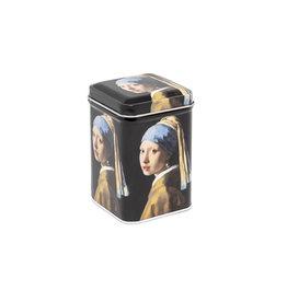 Tea tin Box Girl with a Pearl Earring