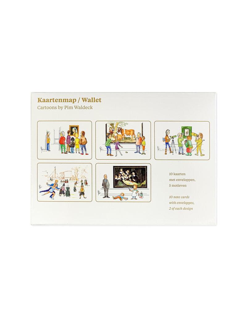 Kaartenmap Cartoons Mauritshuis