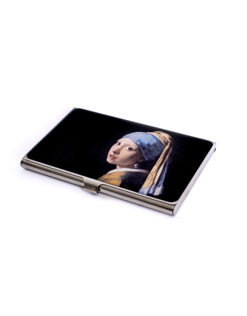 Business card holder Girl with a pearl earring