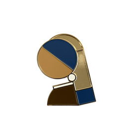 Brooch Girl with a Pearl Earring
