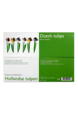 Hollandse Tulpen papieren vouwbloemen