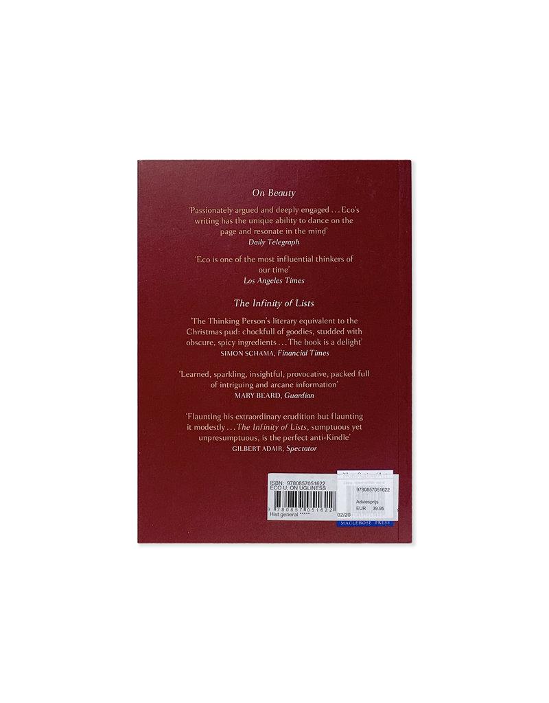 On Ugliness - Umberto Eco - engels