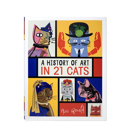 A History of Art in 21 Cats - engels