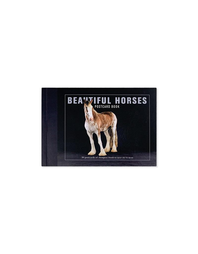 Poscard Book Beautiful Horses