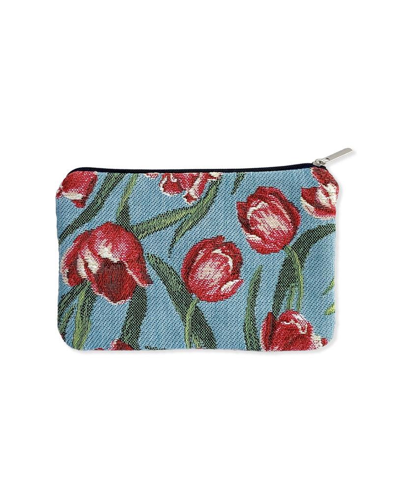 Etui Tulip row aqua