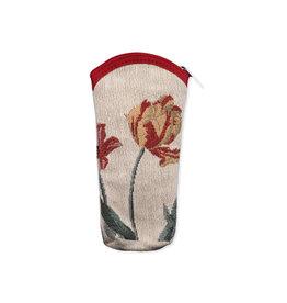 Brillenhoes tulpen creme