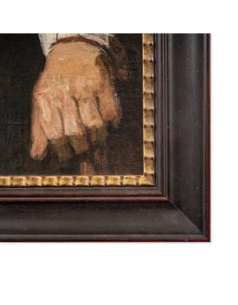 3D Reproductie Rembrandt - Portret van een oude man, 1667