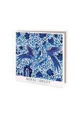Kaartenmapje Royal Delft