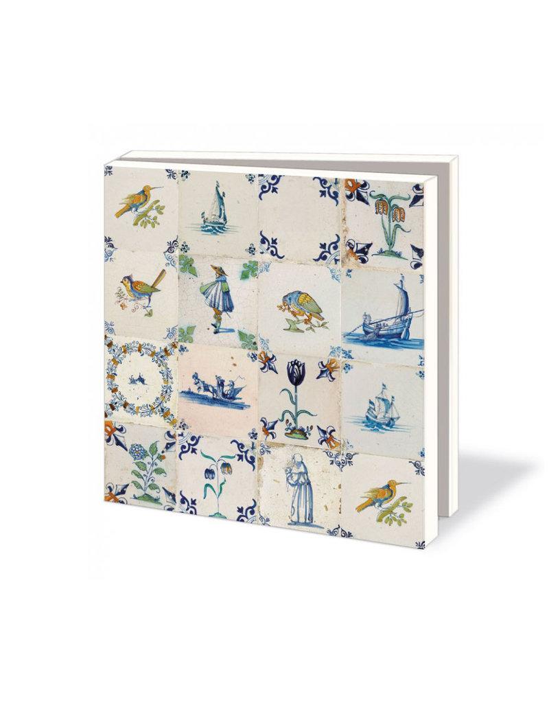 Card folder Dutch Tiles