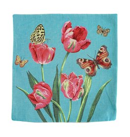 Pillowcase Tulips and Butterlies